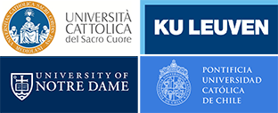 Logos of the 4 promoting universities